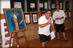 Artworks auction